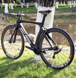 Carbon Fiber Road Bike with 22 Speed 700C SHIMANO R7000 -WEST BIKING