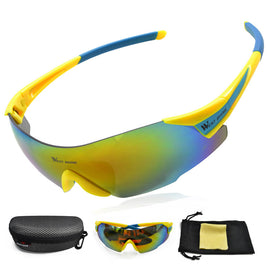 Polarized Sports Sunglasses for Cycling Climbing Fishing Skiing - WEST BIKING