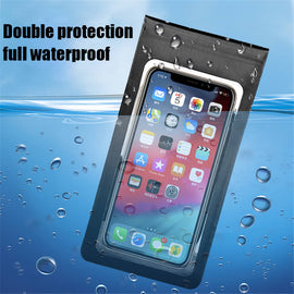 Cycling Touch Screen for Phone Bag Waterproof Bicycle Mount Holder Case