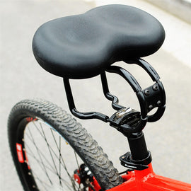 Bicycle Saddle Wide Soft Mountain Road Cycling Seat - WEST BIKING