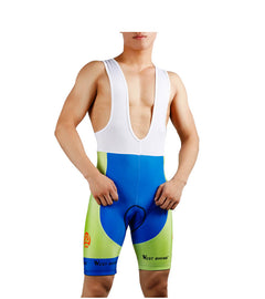 4D Silicone Pad Cycling Bib Shorts Anti-skid Shorts - WEST BIKING