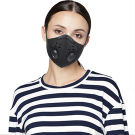 Outdoor Sports Face Mask KN95, Adult Biking Rider Breathing Cycling Half Face Mask PM2.5 Dust-proof - WEST BIKING