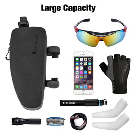 Bike Front Frame Bag Water Resistant - WEST BIKING