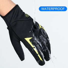 Full Finger Bike Gloves Touch Screen Mitten - WEST BIKING
