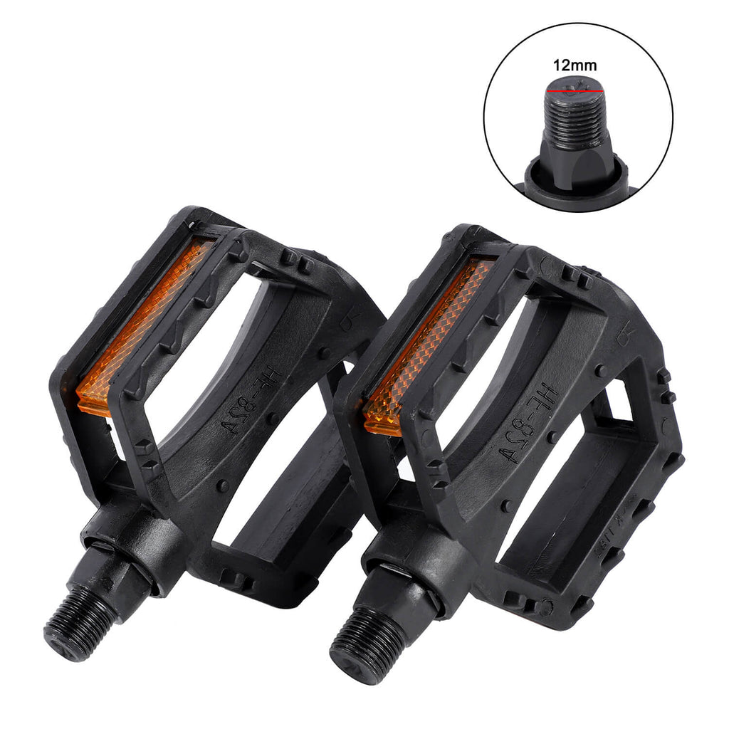 Bicycle Pedals Ultralight Anti-Slip Kids Bike Pedals Bear 9/16 1/2