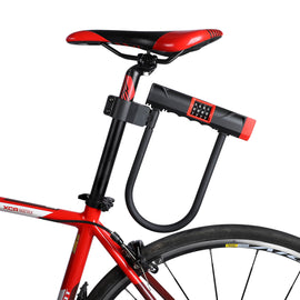 Bicycle U Lock Anti-theft Password Code Heavy Duty - WEST BIKING