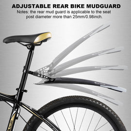 Cool Black Bike Mudguard Set - WEST BIKING