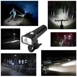 Rechargeable Bicycle Light Anti Glare Waterproof - WEST BIKING