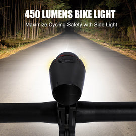 Bicycle Light Set, Front & Rear USB Rechargeable - WEST BIKING