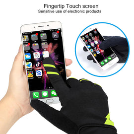 Cycling Gloves Touchscreen Wear Resistant - WEST BIKING
