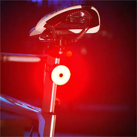 Waterproof Bicycle Tail Light USB Fast Charge Lamp - WEST BIKING
