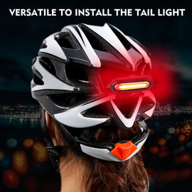Bicycle Elliptical Tail Light USB Rechargeable - WEST BIKING