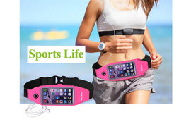 Running Sport Waist Bag with Phone Holder Pouch - WEST BIKING