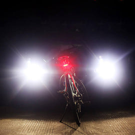 LED Bike Taillight USB Rechargeable - WEST BIKING