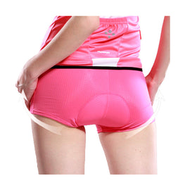 Women's 3D Padded Bicycle Cycling Underwear Shorts - WEST BIKING