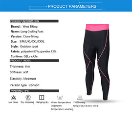 Women's High Waist Cycling Yoga Pants  - WEST BIKING