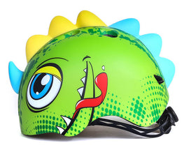 Cute Tyrannosaurus Kids Helmet - WEST BIKING