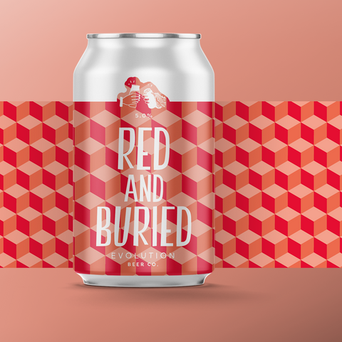 Red and Buried - Irish Red, 5.0%, 330ml