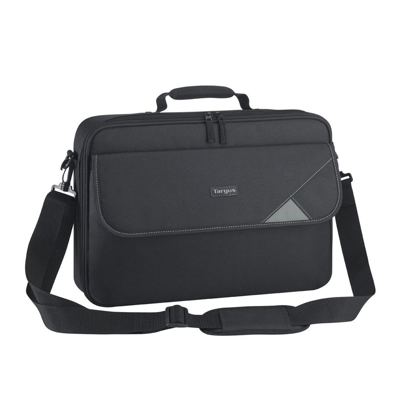 "Targus 15.6"" Intellect Bag Clamshell Laptop Case with Padded Laptop Compartment/ Laptop/Notebook Bag - Mobilebarn®"