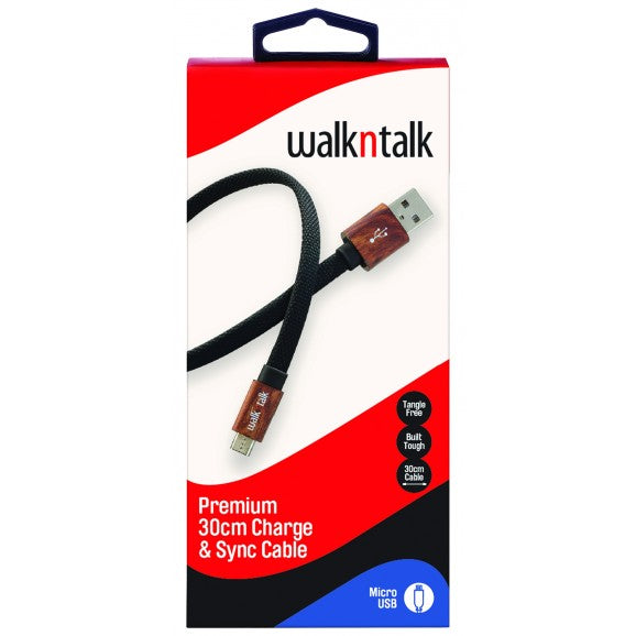 WalknTalk 30CM Cables (Perfect for the car) - Mobilebarn