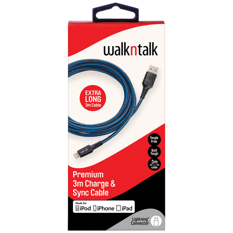 WalknTalk 3M Charge & Sync Cables - Mobilebarn®