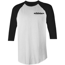 Load image into Gallery viewer, Mobilebarn™ 3/4 Sleeve T-Shirt - Mobilebarn®