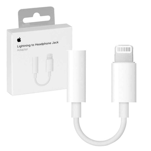 Apple - Lightning to 3.5mm Headphone Jack Adapter - Mobilebarn®