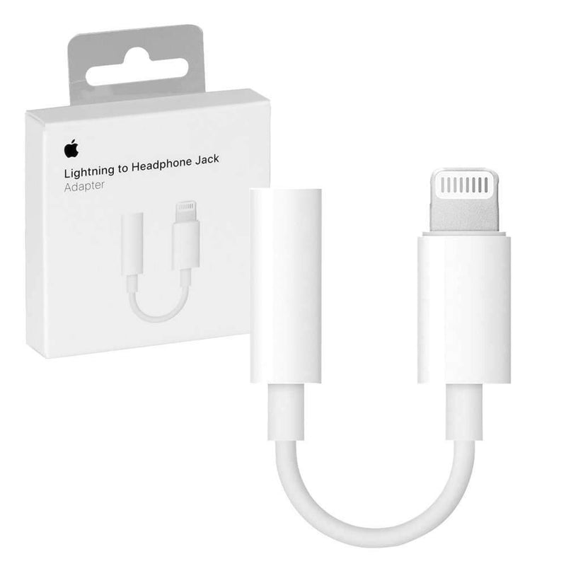 Apple - Lightning to 3.5mm Headphone Jack Adapter - Mobilebarn