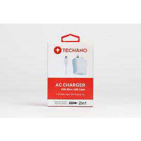 Techano AC Charger Micro USB