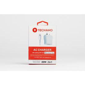 Techano AC Charger Lightning USB