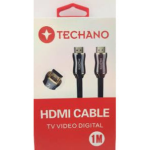 Techano HDMI Cable 1m - Mobilebarn