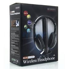 Wireless TV 5 in 1 Headphones - Mobilebarn