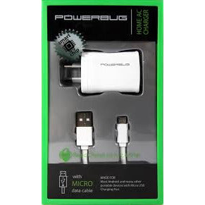 Powerbug Home AC Charger w/ Type C Cable