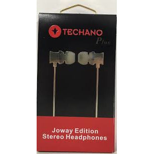 Techano Plus Premium Stereo Earphones - Mobilebarn