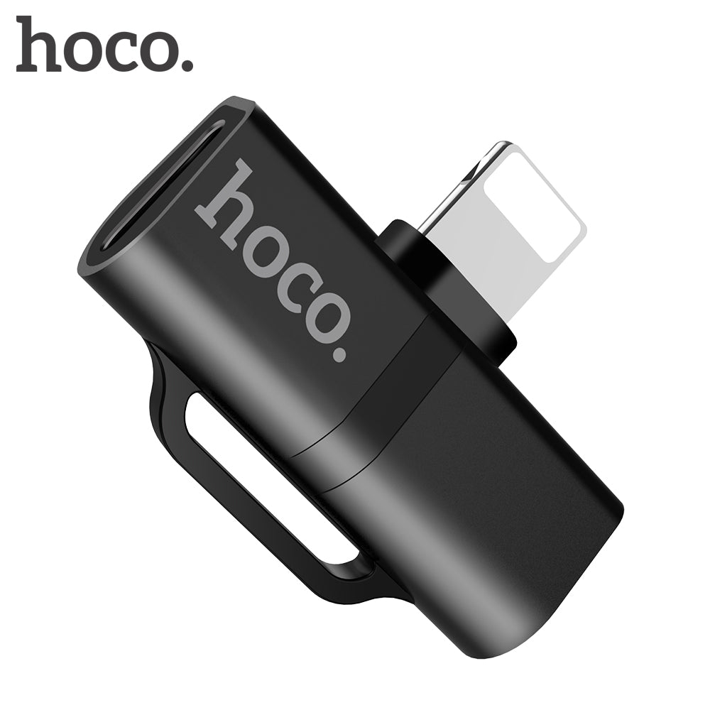 Hoco - Dual Lightening Adapter - Mobilebarn®