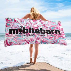 Mobilebarn™ Girls Towel (Swirl Series)