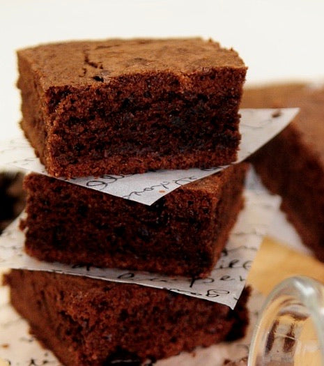 Sugar Free Chocolate Brownies - Bouchée Douce Bakery