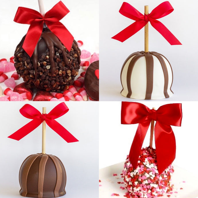 Valentine Gourmet Candy Apples