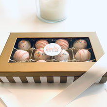 Load image into Gallery viewer, Strawberry Cake Truffles - Bouchée Douce Bakery