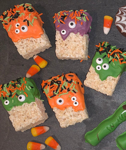 Monster Rice Krispie Treats - Bouchée Douce Bakery