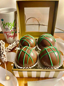 Christmas Hot Chocolate Bombs Set