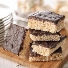 Load image into Gallery viewer, Chocolate Dipped Rice Krispie Bars
