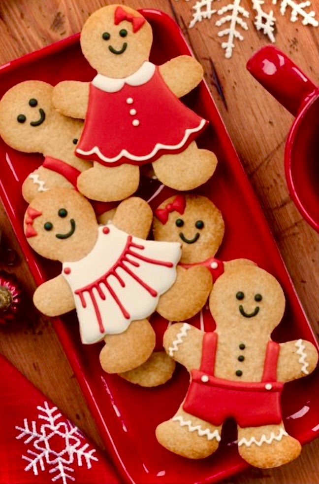 Gingerbread Kid Cookies