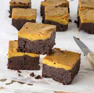 Salted Caramel Brownie Fudge
