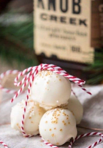 White Chocolate Bourbon Truffles