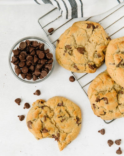 Gluten Free Chocolate Chip Cookies - Bouchée Douce Bakery