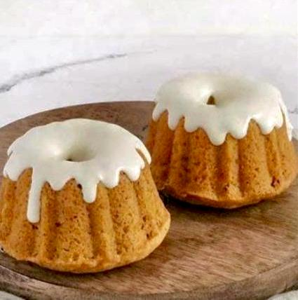 Pumpkin Spice Mini Bundts