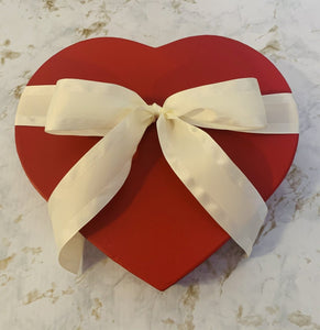 Valentine Dipped Heart Cookie Box