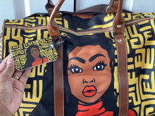 Load image into Gallery viewer, Melanin Queen Luggage Tag