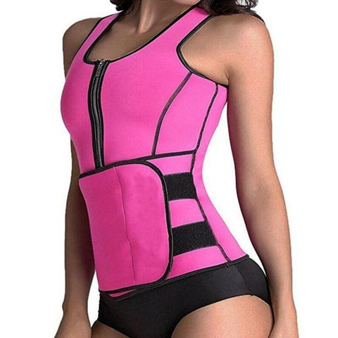 NEW Sauna Vest Adjustable Slimming Body Shaper (4 Colors Available)